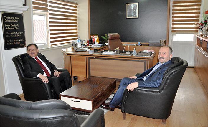 Erhan Usta'dan Mustafa Demir'e ziyaret