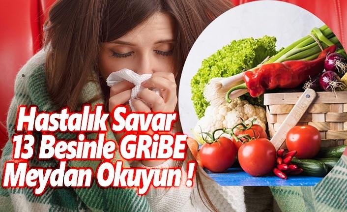 Hastalık savar 13 besinle gribe meydan okuyun!