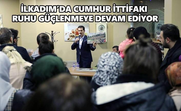 İlkadım Sevdalısı Erdoğan Tok ev ev dolaşıyor