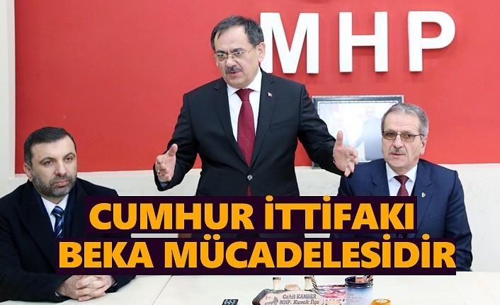 Mustafa Demir: 1 Nisan Cumhur İttifakı'nın başarısının taçlandığı tarih olacaktır