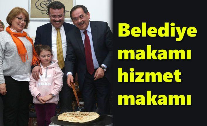 Mustafa Demir: Belediye makamı hizmet makamı