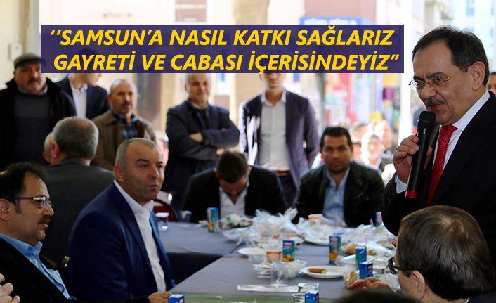 Mustafa Demir'den Samsun için büyük proje