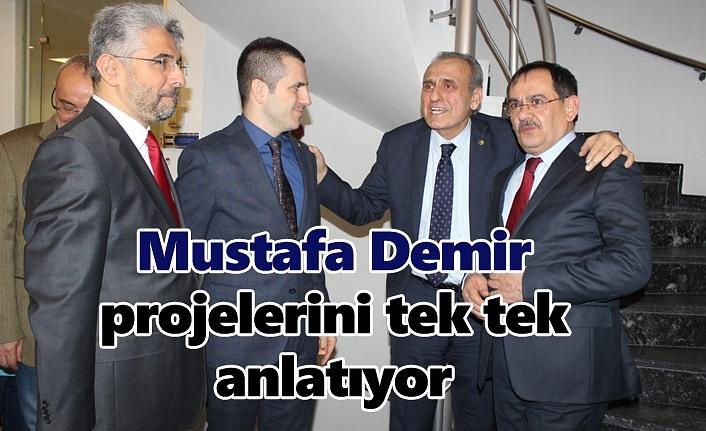 Mustafa Demir: Yatırımcının yanında olacağız!