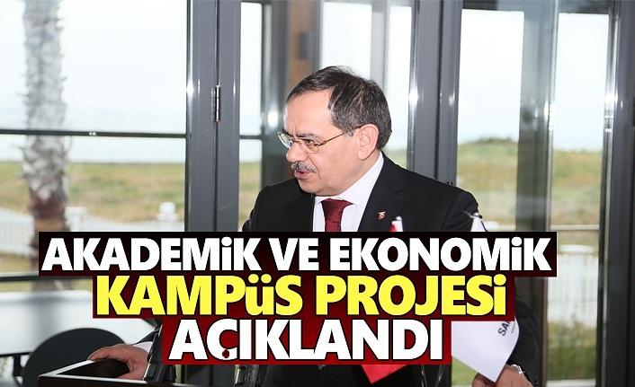 Mustafa Demir, Akademik ve Ekonomik Kampüs Projesini Açıkladı