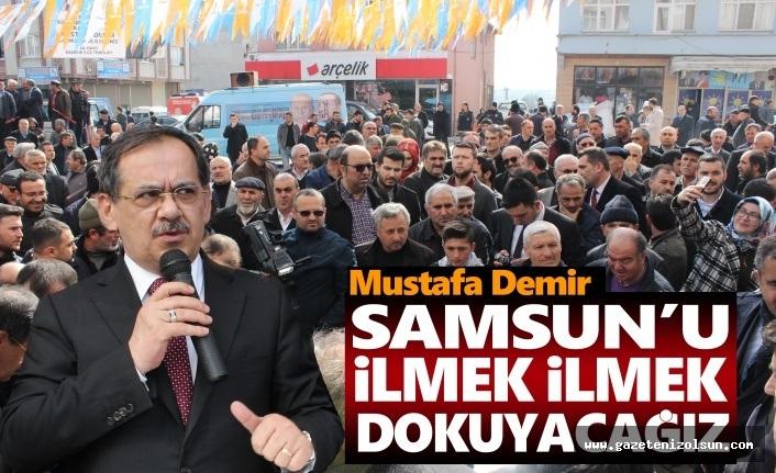Mustafa Demir, 5 ilçede SKM açılışlarına katıldı