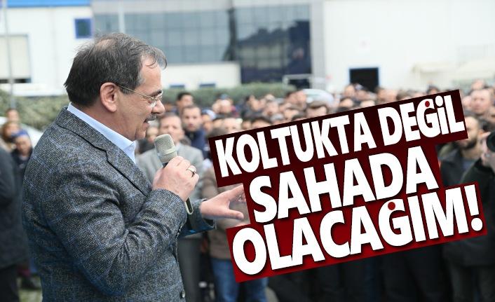 Mustafa Demir, Sampa Otomotiv çalışanlarıyla buluştu