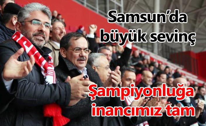 Mustafa Demir: Şampiyonluğa inancımız tam