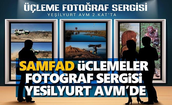 Samfad Üçlemeler Fotoğraf Sergisi Yeşilyurt AVM'de