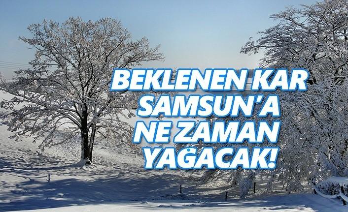 Samsun'a Beklenen Kar Cumartesi Günü Yağacak