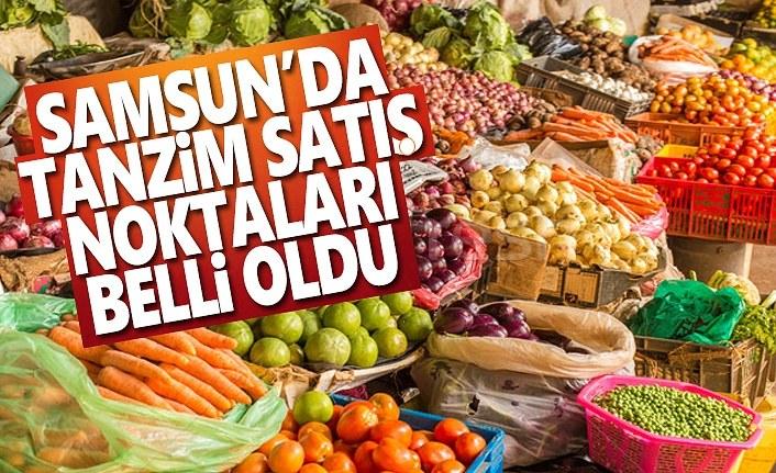 Samsun'da Tanzim Satış Yerleri Nerede!