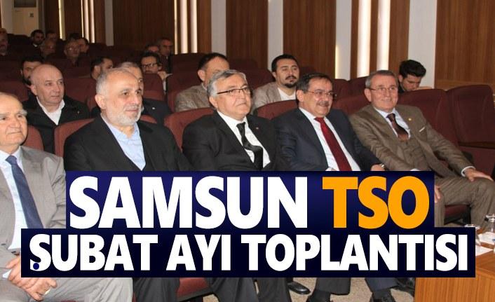Samsun TSO Şubat Ayı Toplantısını Gerçekleştirdi