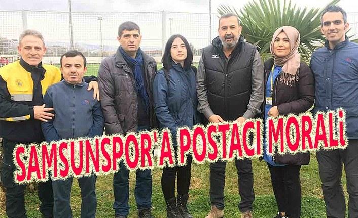 Samsunspor'a Türkiye'nin her yerinden destek mektubu geliyor