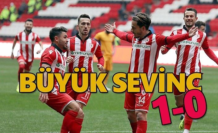 Samsunspor Eyüpspor maç sonucu: 1-0