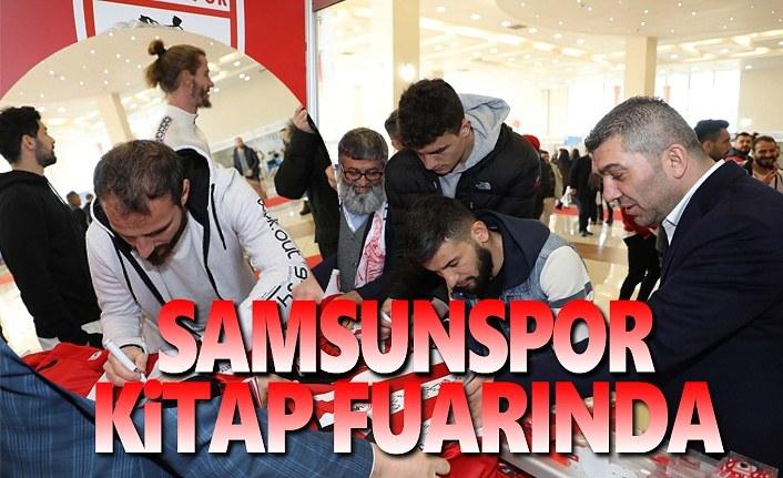 Samsunspor Futbolcuları Kitap Fuarında