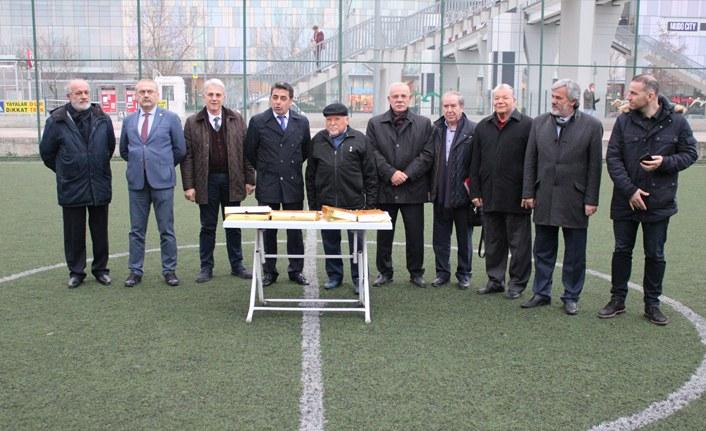 Samsunspor Kulübü'nden Alt Yapıya ziyaret