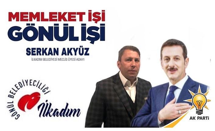 Serkan Akyüz Meclis Üyesi oldu