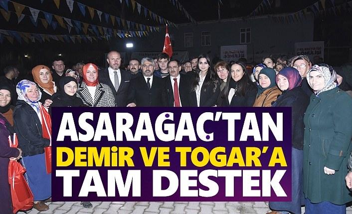 Tekkeköy Asarağaç Mahallesinde Gövde Gösterisi