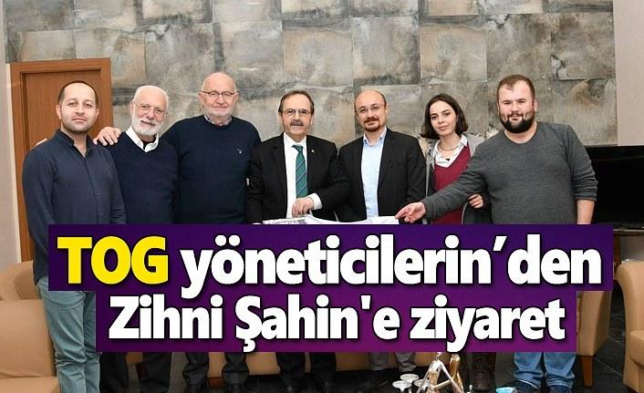 TOG yöneticilerinden Zihni Şahin'e ziyaret