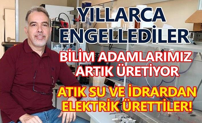 Türk bilim adamları atık sudan ve idrardan elektrik üretiyor!