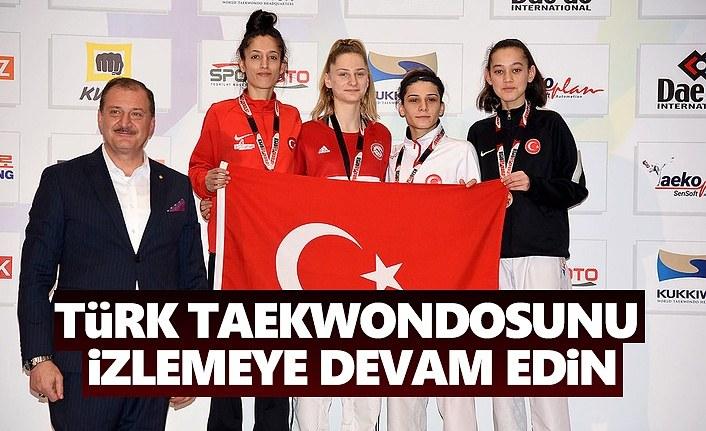 Türk Taekwondosunu İzlemeye Devam Edin