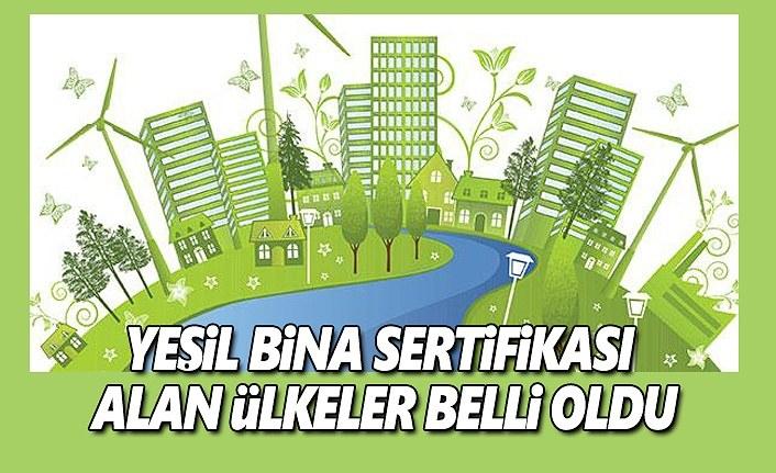 Türkiye Yeşil Bina Sertifikası Alan Altıncı Ülke Oldu