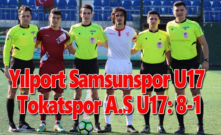 Yılport Samsunspor U17 – Tokatspor A.Ş U17: 8-1