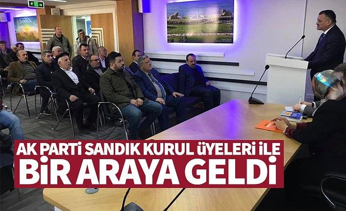 AK Parti Sandık Kurulu Üyeleri İle Bir Araya Geldi