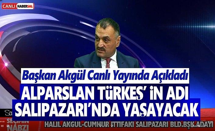 Alparslan Türkeş'in adı Salıpazarın'da Yaşayacak