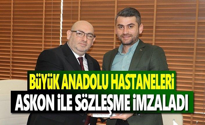 Askon ve Büyük Anadolu kurumsal sağlık anlaşması yaptı