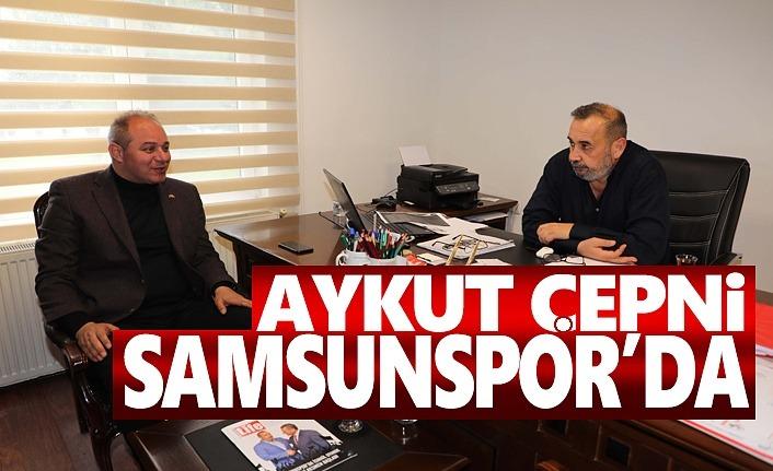 Aykut Çepni Samsunspor'u ziyaret etti