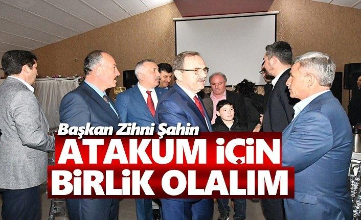 Başkan Şahin, Atakum için birlik olalım