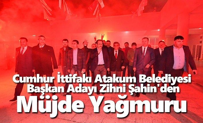 Başkan Şahin'den Esenevler ve Pelitköy'de Müjde yağmuru