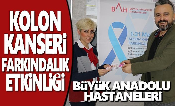 Büyük Anadolu'dan Kolon Kanseri Farkındalığı Etkinliği