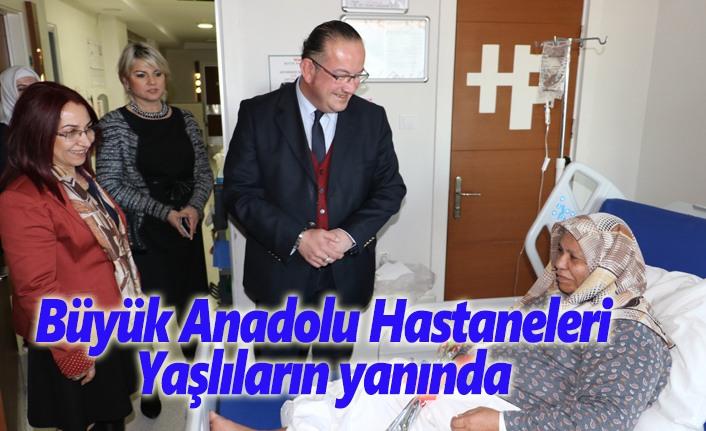 Büyük Anadolu Hastaneleri yaşlıların yanında
