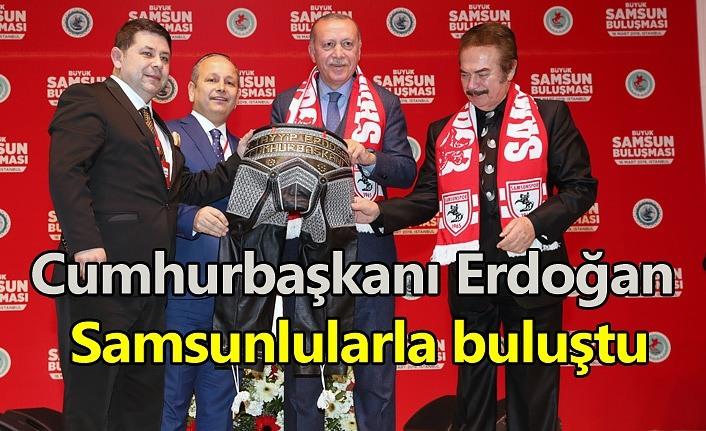 Cumhurbaşkanı Erdoğan, 'Büyük Samsunlular Buluşması'na katıldı