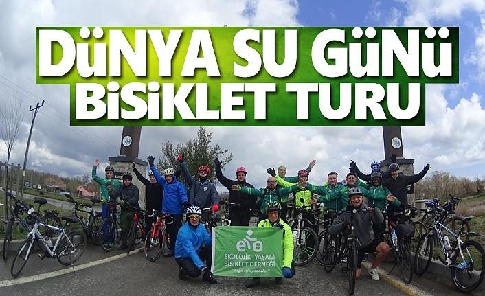 Dünya Su Günü, Su Hayattır Sloganıyla Bisiklet Turu