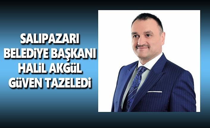 Halil Akgül Salıpazarı Belediye Başkanı Oldu