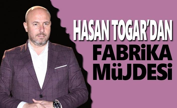 Hasan Togar'dan Büyük Müjde
