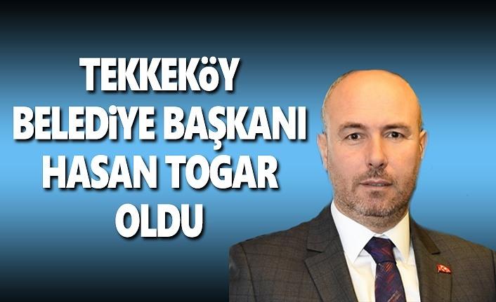Hasan Togar Tekkeköy Belediye Başkanı Oldu