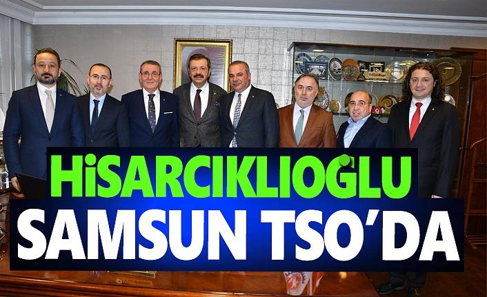 Hisarcıklıoğlu, Samsun TSO'da