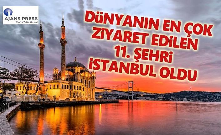 İstanbul Dünyanın en çok ziyaret ettiği şehir oldu