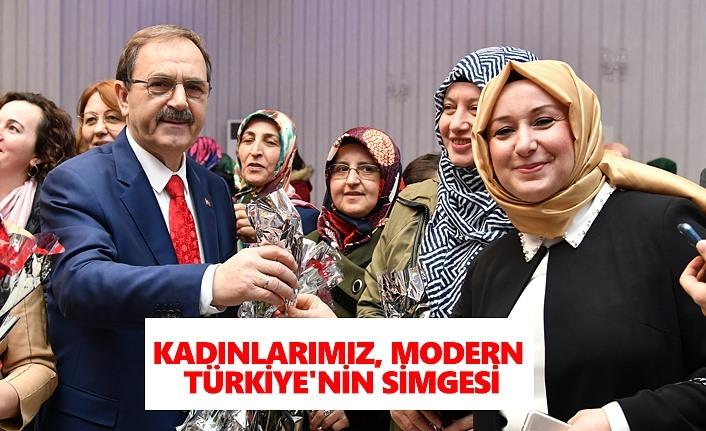 Kadınlarımız, modern Türkiyenin simgesi