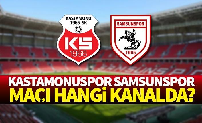 Kastamonuspor Samsunspor maçı hangi kanalda saat kaçta?