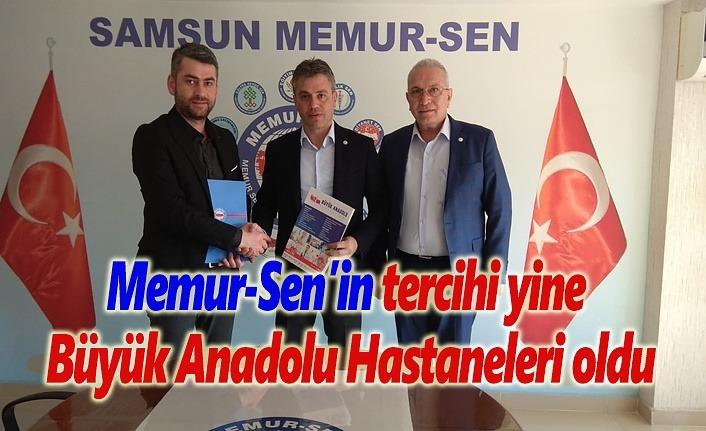 Memur-Sen'in tercihi yine Büyük Anadolu Hastaneleri oldu