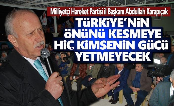 MHP İl Başkanı Karapıçak, Çatalarmut Kararını Vermiş