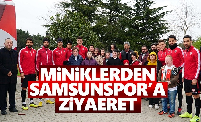 Miniklerden Samsunspor'a Ziyaret