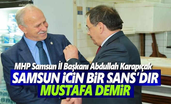 Mustafa Demir her şehrin arayıp da bulamadığı bir aday'dır