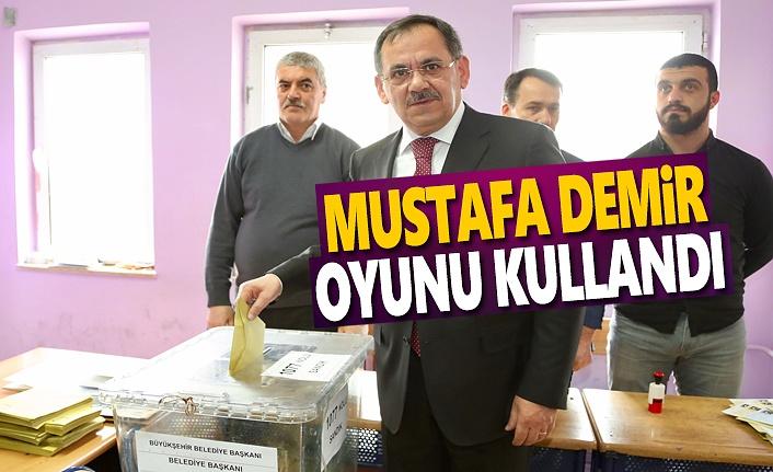 Mustafa Demir, oyunu Atakum'da kullandı