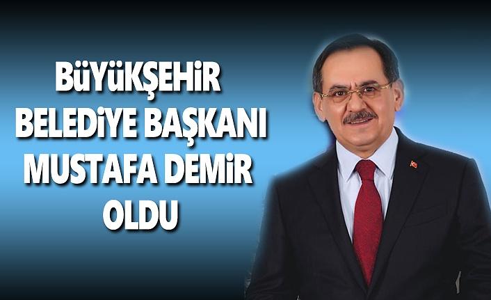 Mustafa Demir Samsun Büyükşehir Belediye Başkanı Oldu