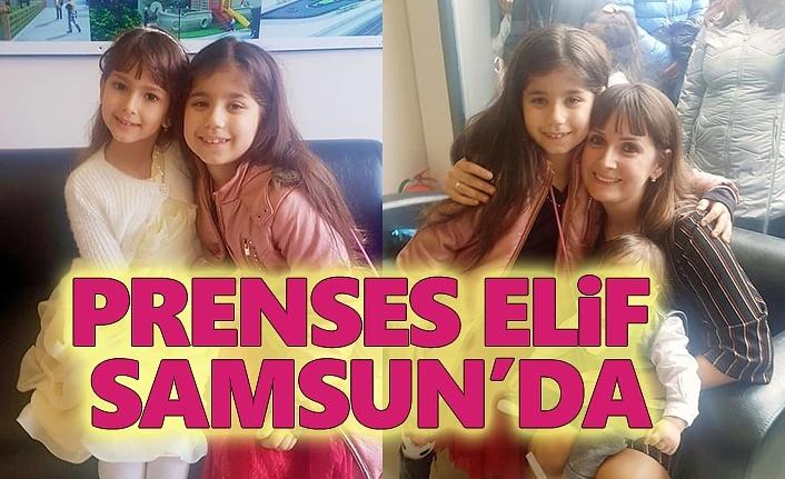 Prenses Elif Samsun'lu Hayranları ile Buluştu